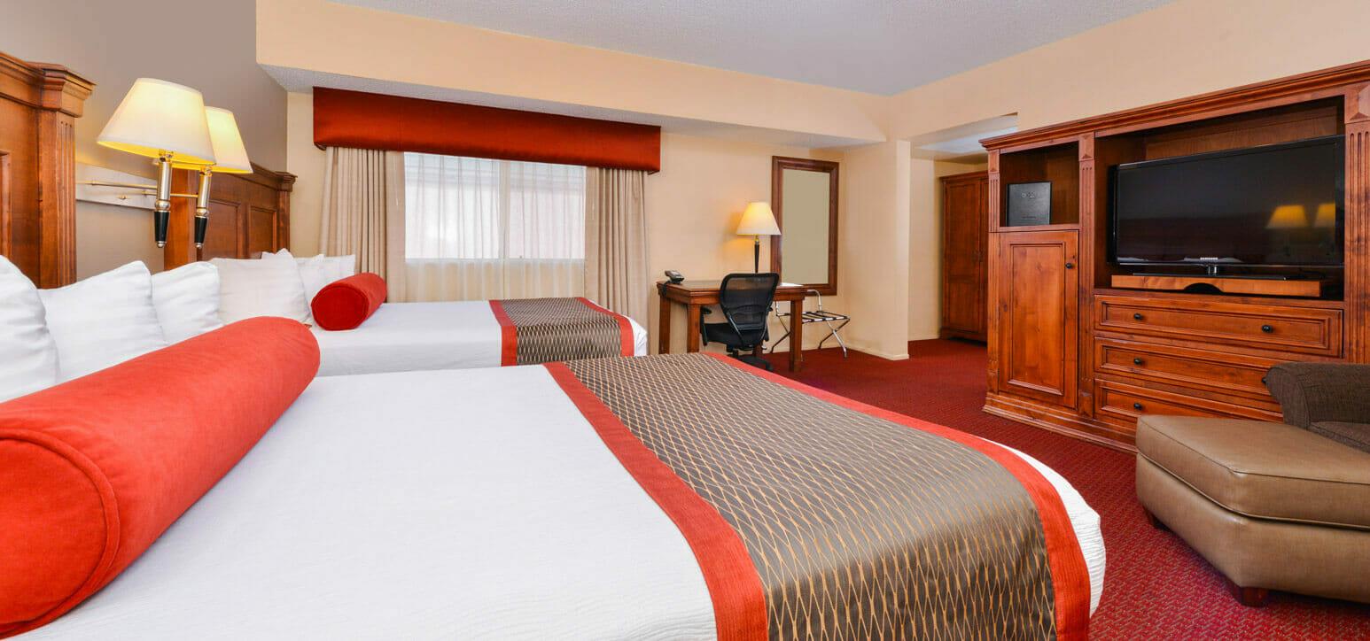 King's Inn hotel room in Arizona